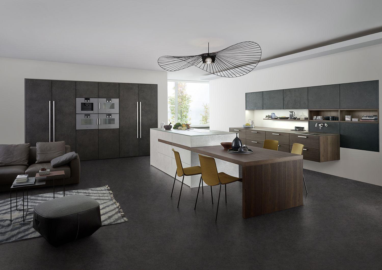 TOPOS  CONCRETE – Objekt und Küche  Küchenfachhändler